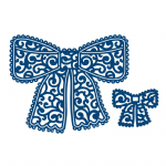 Tattered Lace Dies - Chantilly Bow (D172)